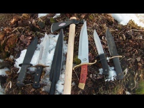 Tgo Top Wild Boar Hunting Knives! video