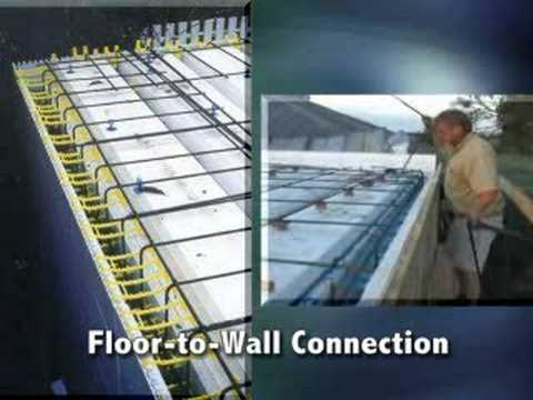 Icf For Floors Amp Roofs Quad Deck Insulating Concrete