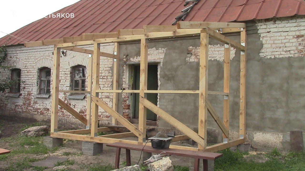 Крыльцо на даче своими руками инструкция и постройки