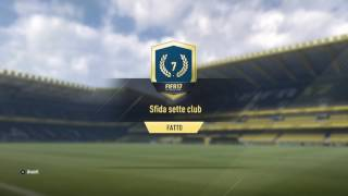 FIFA 17 SFIDA CREAZIONE ROSA (SFIDA SETTE CLUB)
