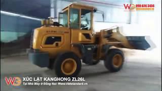 Xúc lật KANGHONG ZL26L Tại Nhà Máy ở Đồng Nai