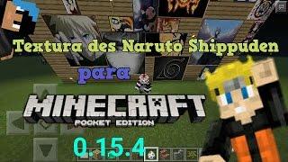 Textura de Naruto Shippuden para Minecraft PE 0.15.4-0.15.6