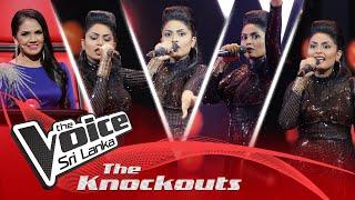 Sadeepa Diddeniya | Kasthuri Suwandaki  The Knockouts | The Voice Sri Lanka