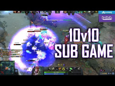 10v10 Sub Game - SingSing Dota 2 Highlights