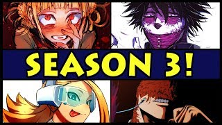 Every Season 3 Character EXPLAINED! (My Hero Academia / Boku No Hero Academia New S3 Characters)