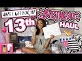 Lagu What I Got for My 13th Birthday Haul  Morgan Jean