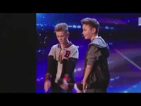 Bars & Melody (BAM) Simon Cowell's Golden Buzzer act Britain's Got Talent 2014 Audition