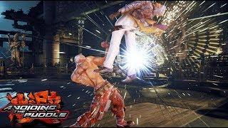 Tekken 7 Info For Nerds - Get To Know Bryan's Taunt Jet Upper