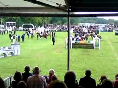 Burghley Horse Trials 2011 – Day 4 in the Main Arena, Parade and Presentation of Prizes.