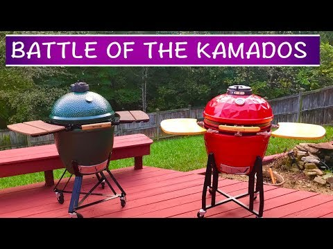 Big Green Egg vs. Vision Grill - BATTLE OF THE KAMADOS