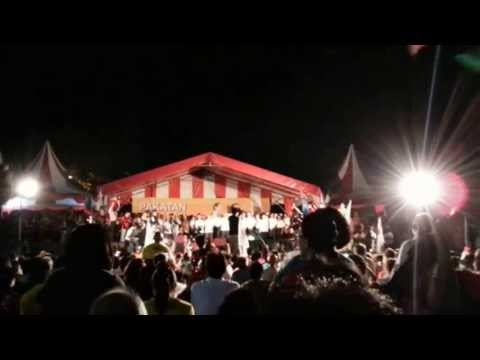 A night before Nomination Day--19-04-2013 @ Esplanade, Penang (Speaker-CM Lim Guan Eng, Part-1)