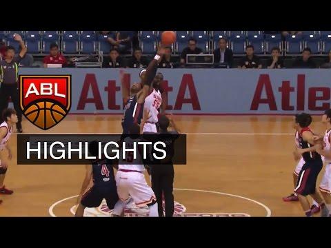 Singapore Slingers vs Pilipinas MX3 Kings 24 Jan game highlights   ASEAN Basketball League 2015-2016