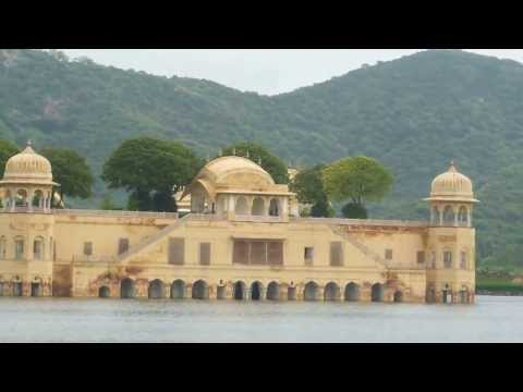 Beautiful Jal Mahal(Water Palace) Jaipur.Rajasthan.