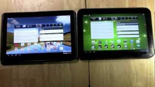Comparison - Galaxy Tab 2 (10.1) vs Toshiba Excite 10