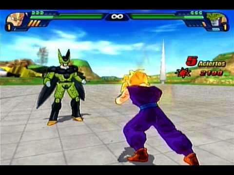 Dragon Ball Z Budokai Tenkaichi 3 Version Latino *BETA 2*  Gohan SSJ vs Cell Perfecto