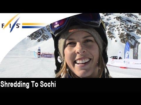 Shredding to Sochi with Torah Bright