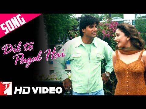 Dil To Pagal Hai Title Song | Shah Rukh Khan | Madhuri Dixit | Karisma Kapoor | Akshay Kumar