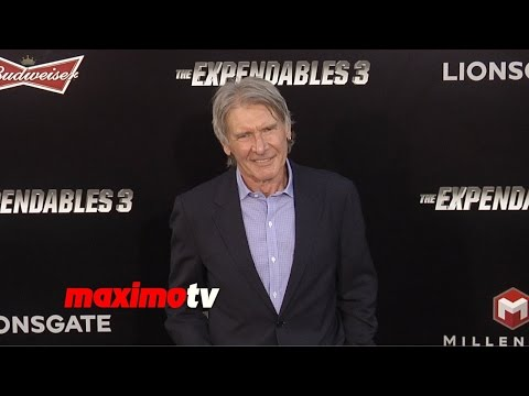 Harrison Ford | The Expendables 3 | Los Angeles Premiere ARRIVALS