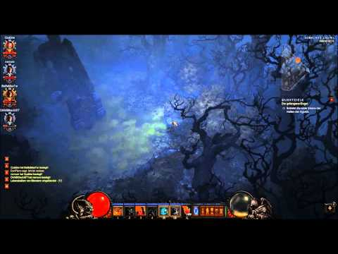 Diablo 3 PvP - Barb vs. 3 DHs