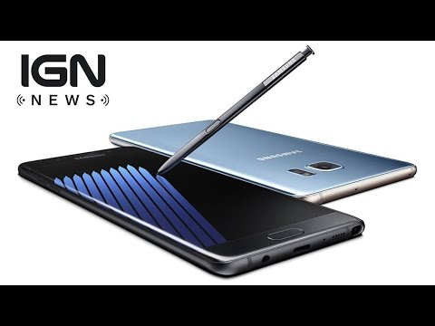 Samsung Offers Weird Galaxy Note 7 Explosion Solution - IGN News