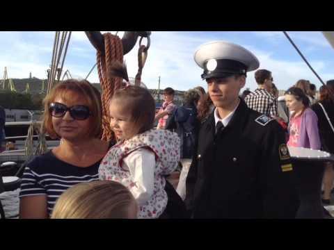 Murmansk Kruzenshtern sailing vessel from travel company visitmurmansk.info