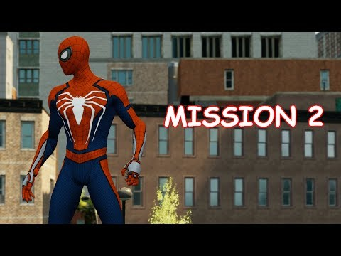 Playing as PS4 Spider-man - Mission 2 - The Amazing Spider-man 2 (PC)