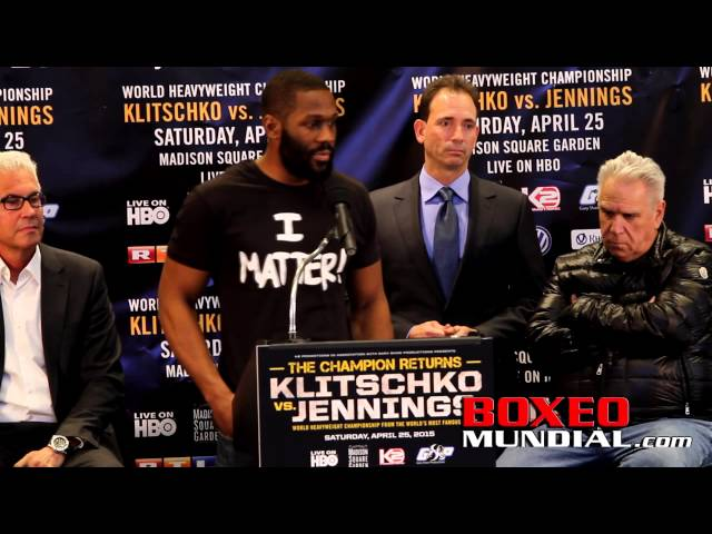 Bryant Jennings vs Wladimir Kltschko: WIN LOSE OR DRAW ONE OF US HAS TO LOSE