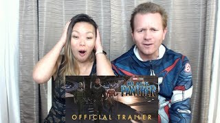 Black Panther Official Trailer - Reaction and Review