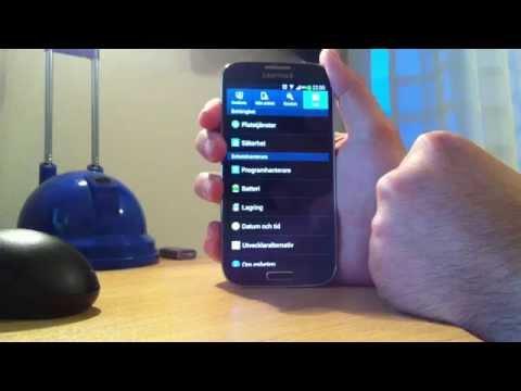 Samsung Galaxy S4  Turn Off App Notification
