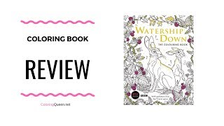 Watership Down Colouring Book Review