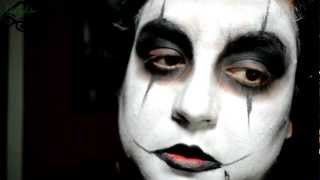 Serie Halloween: El Cuervo / The Crow Makeup Tutorial