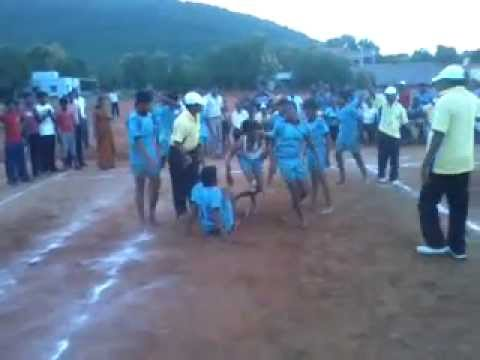 Kabaddi Match Tamilnadu Vs Hyderabad video