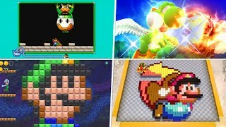 Evolution of Super Mario World References in Nintendo Games (1992 - 2019)