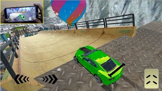 Mega Ramp Car Stunts Racing Impossible Tracks 3D #1 - Android Gameplay