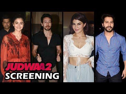 Judwaa 2 Special Celebrity Screening Iulia, Alia, Akshay Kumar, Tiger Shroff And Others