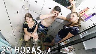 O ULTIMO A SAIR DO BOX DO BANHEIRO GANHA 1000R$ - DESAFIO