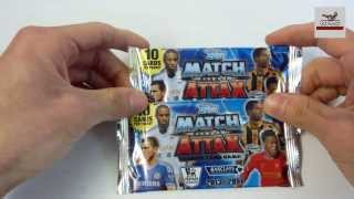 UNBOXING: 2 Sobres Topps Match Attax 2013-2014 Premier League
