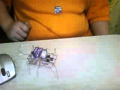 Роботы из скрепок своими руками