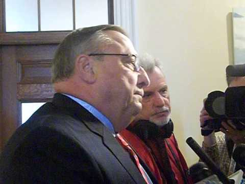Paul LePage repeats refusal to debate Democratic opponent Rep. Mike Michaud (full video)