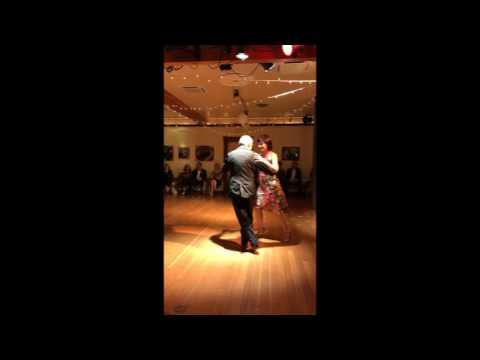 Jose Garofalo and Elizabeth Wartluft dance Despues