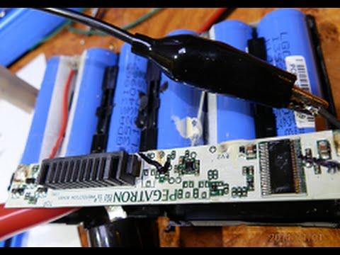 Ремонт аккумулятора для ноутбука своими руками