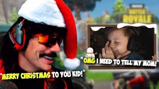 DrDisRespect Gives 9 Year Old Streamer a Special Gift on Christmas (Jaken4025) (12/24/18)