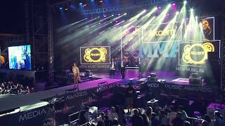 Akcent, Lidia Buble si DDY Nunes - Kamelia - LIVE @ Media Music Awards 2014