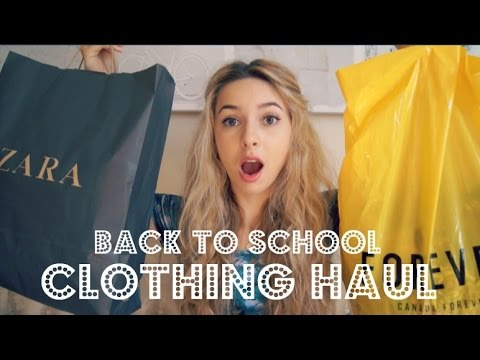 Back to School | Clothing Haul **TRY ON** 2014