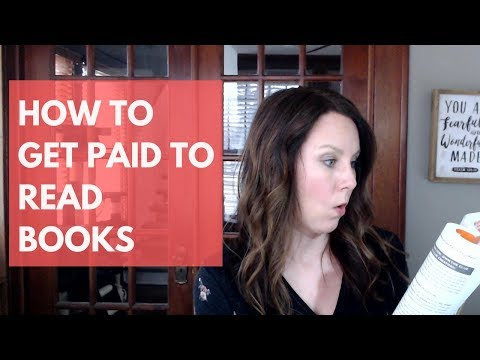 Ways to Get Paid to Read Books