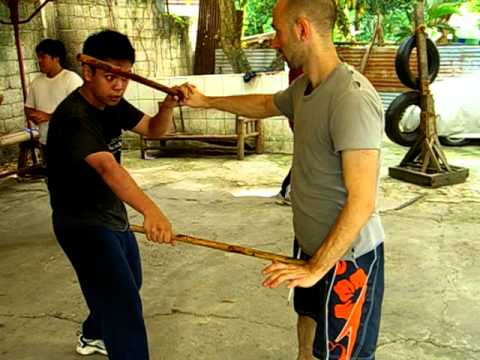 Nickelstick Balintawak Eskrima Training Jake and the 12 Basics Image 1