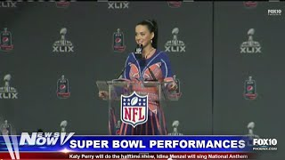 LIVE: FOX 10 News Now - Katy Perry and Idina Menzel Talk About Super Bowl Performances