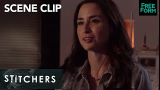 Stitchers | Season 3, Episode 6: Linus and Camille Get In An Argument | Freeform
