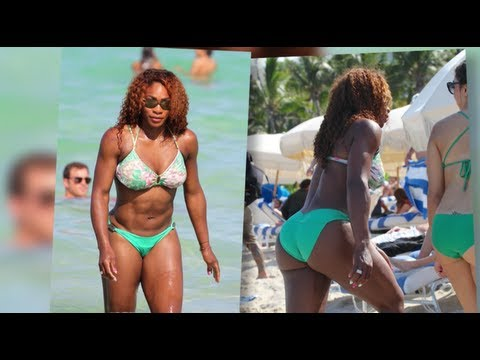 Serena Williams Shows Off Her Ace Bikini Body in Miami