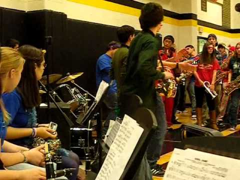 Amity Regional High School 2010 Pep Rally Jazz Band